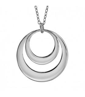 Collier 2 cercles - 2 prénoms
