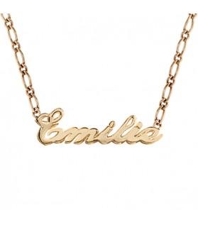 Bracelet prénom maille...