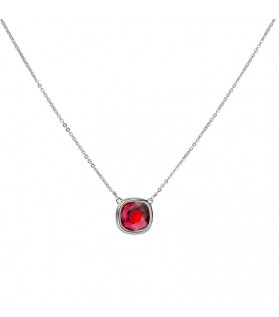 COLLIER PILLOW SCARLET GM